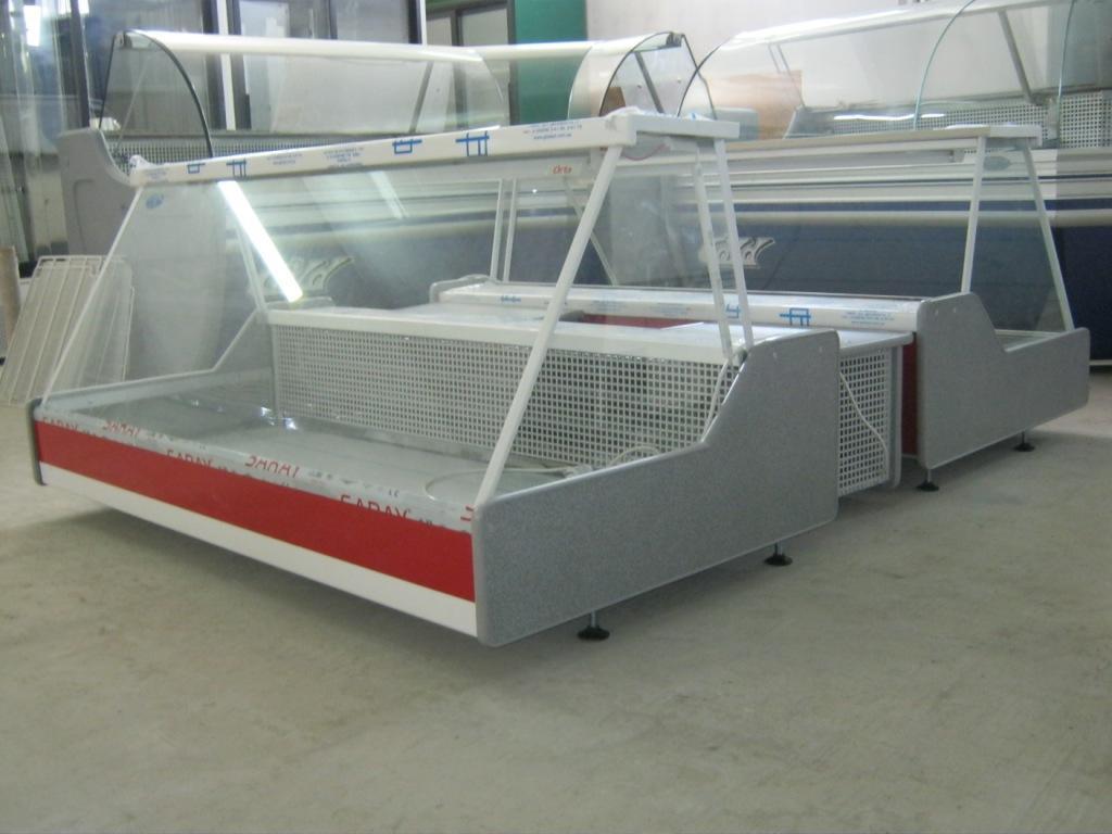 Холодильная настольная витрина ORTA FREDDO  1.0 (прямое стекло)