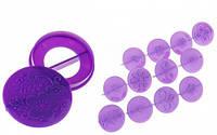 Фигурки пласмасовые для декорирования капкейков Ø 25/60 мм (упаковка 14 шт), фото 1