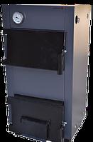 Твердотопливный котел ТТ-9с Luxe с охлаждаемыми колосниками (из цельнотянутой трубы)