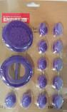 Фигурки пласмасовые для декорирования капкейков Ø 25/60 мм (упаковка 14 шт), фото 2