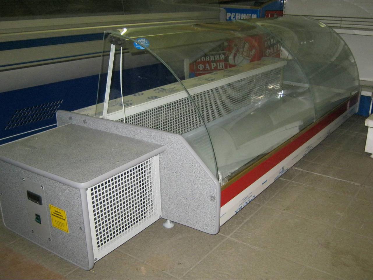 Холодильная витрина настольная ORTA FREDDO 1.2 (гнутое стекло)