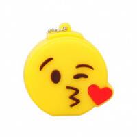 Флешка смайлик (поцелуй сердечком) 8 Гб, фото 1
