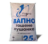 Известь гашеная (пушонка), 25 кг