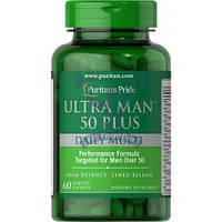 Puritan's Pride Ultra Man 50 Plus 60 шт (витамины для мужчин 50+)