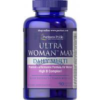 Puritan's Pride Ultra Woman Max Daily Multivitamin витамины для женщин повышение иммунитета