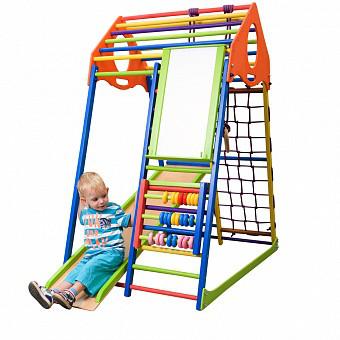 Дитячий спортивний комплекс KindWood Color Plus
