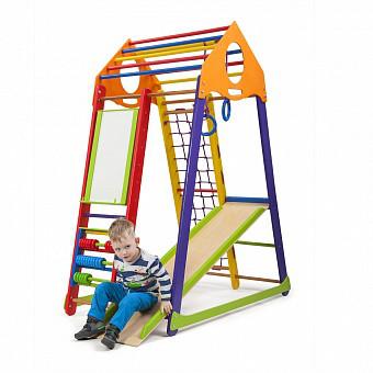 Дитячий спортивний комплекс BambinoWood Color Plus