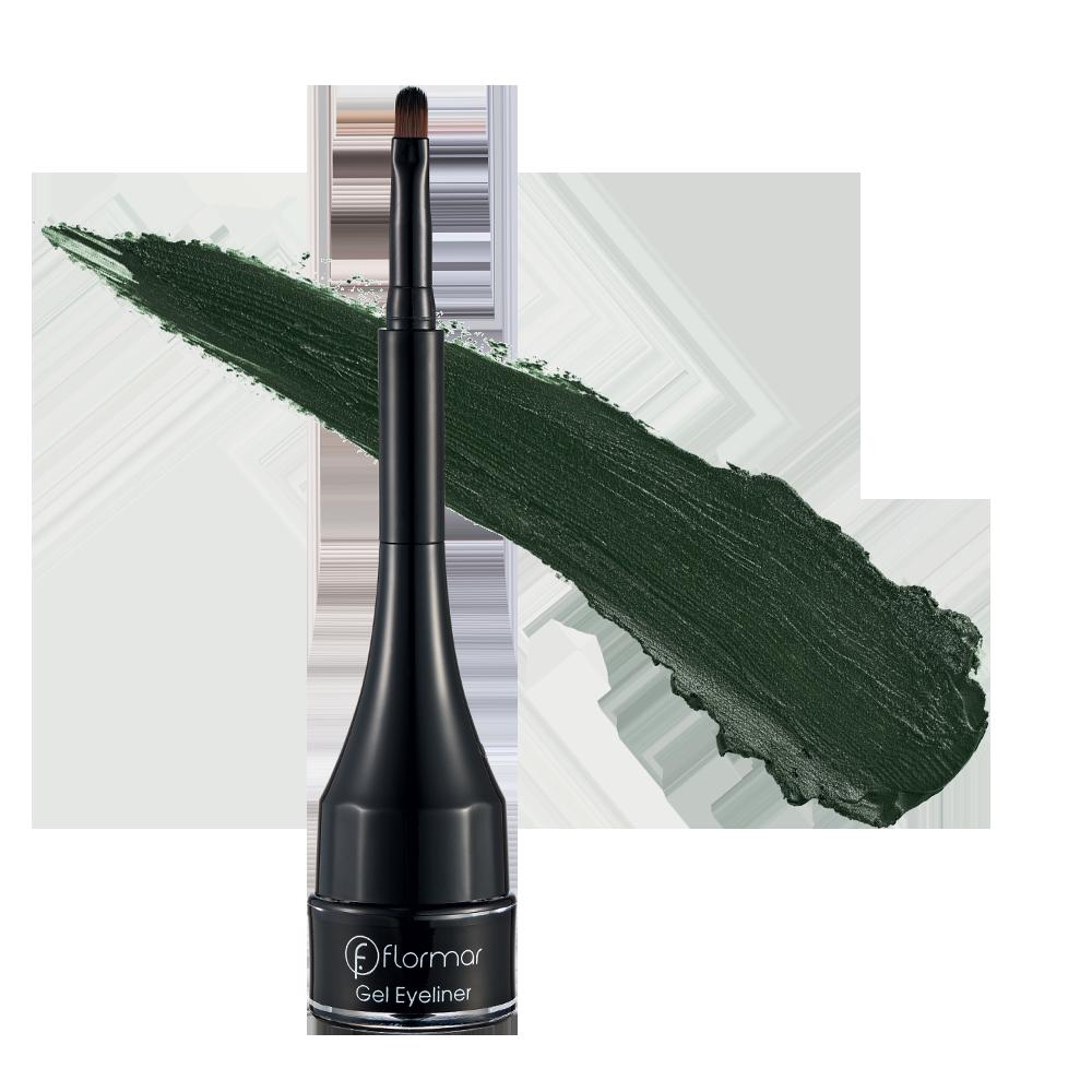 Гелевая подводка для глаз Flormar GE04 Forest Green 2,2 г (2733024)