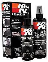 Набор очистки и смазки фильтров K&N, фото 1