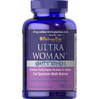 Puritan's Pride Ultra Woman™ Daily Multi Timed Release (женсский витаминный комплекс)