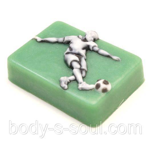 Пластиковая форма для мыла Футболист