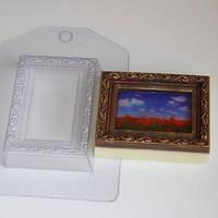 Пластиковая форма для мыла Рамка/Прямоугольник