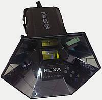 Световой прибор с звуковой активацией POWER light HEXA