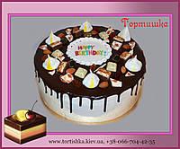 Торт в шоколаде на День Рождения