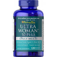 Puritan's Pride Ultra Woman™ 50 Plus Multi-Vitamin (витамины для женщин 50+)