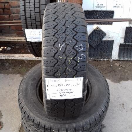 Бусовские шины б.у. / резина бу 225.70.r15с Firestone CVW 3000 Файрстоун