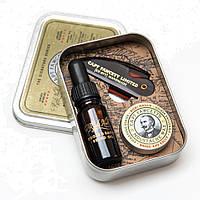 Набор для ухода за усами и бородой Captain Fawcett Ricki Hall Booze & Baccy Grooming Survival Kit