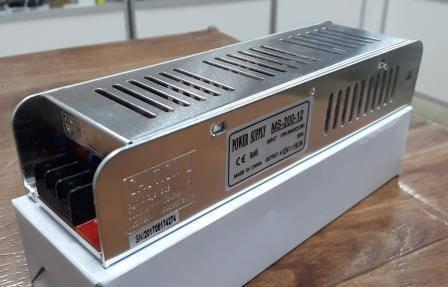 Блок питания удлиненный 12V-200W-16.5А серия MS