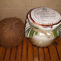 Кокосовое масло пищевое холодный отжим, 500мл стеклянная банка