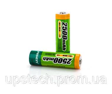 Аккумулятор PISEN 2500 mAh Ni-Mh  size AA