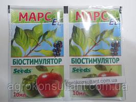 Биостимулятор роста Марс - EL (10мл) - пленкообразующий, для семян и растений, убережет от заморозков и засухи
