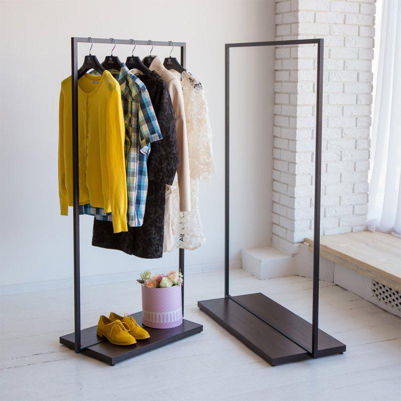 Стойка для одежды напольная лофт Платон 2