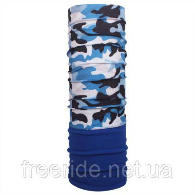 Зимний бафф с флисом, теплый шарф (#657)