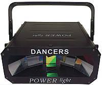 Световой прибор с звуковой активацией POWER light DANCERS