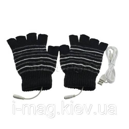 Перчатки с подогревом USB мужские, фото 1