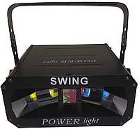 Световой прибор с звуковой активацией POWER light SWING
