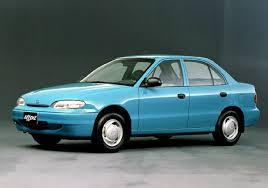 Hyundai Accent / Хендай Акцент (Седан, Хетчбек) (1994-1999)