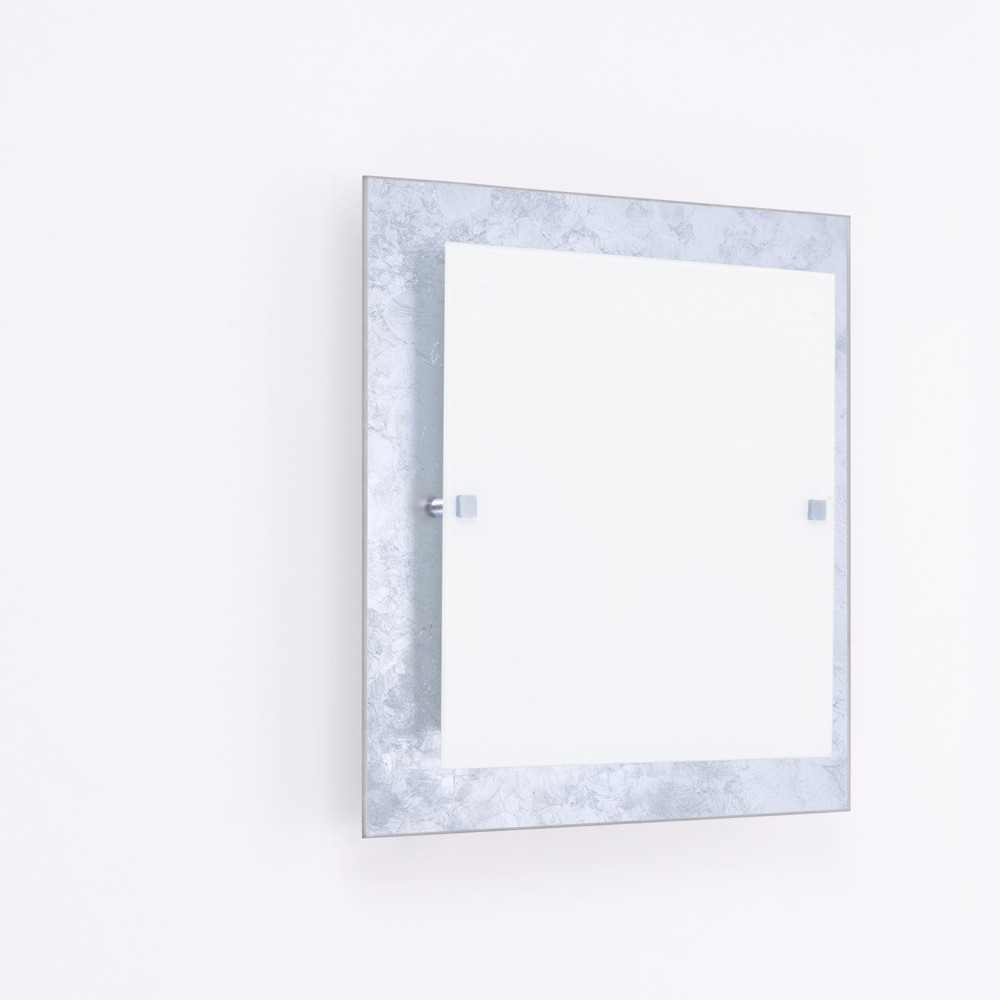 Светильник 2х60w Декора 31150 Мечта серебро