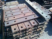 Накладки залізничні стикові до рейок типу Р65 б/у