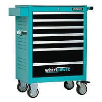 Набор инструментов Whirlpower 224 единицы (ящик-тумба на колесах)