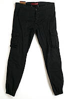 Джоггеры Blackzi мужские 8016-12 карго черные