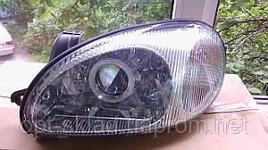 Комплект Фар с биксеноновыми линзами G5 на Daewoo Lanos с ксеноном