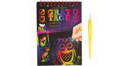 Набір Граттаж «Grattage» А-6 105*148 Danko Toys