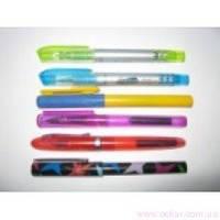 Ручка пір'яна з капсулою мікс кольорів