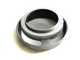 Бленда вентилируемая 37мм, металл, Leica, серебристая