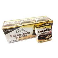 Вафли Excelsior knusprige какао + кекс 250г
