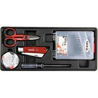 Набор инструмента вкладыш инструментального шкафа 23 предмета YT-55471
