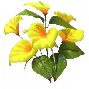Калла 7 цветков , высота ножки - 40 см , упаковка 20 шт