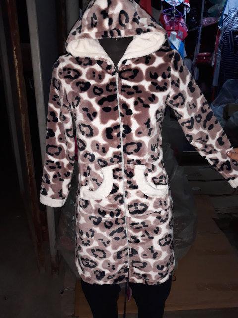 Очень качественный плюшевый халат для девочек, фото 1