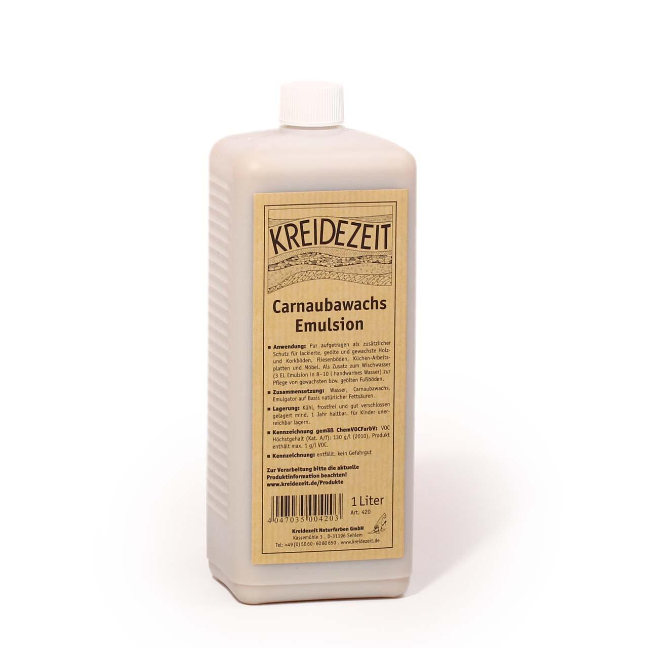 Натуральный Воск Карнауба Carnaubawachs Emulsion 1 l