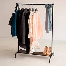 Стойка для одежды напольная лофт Платон 20, фото 2