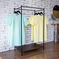 Стойка для одежды напольная лофт Платон 21, фото 3
