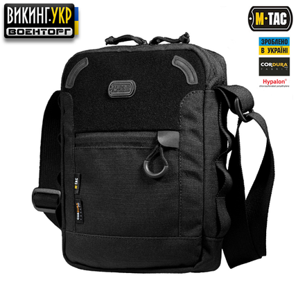 M-TAC СУМКА SATELLITE BAG BLACK, фото 2