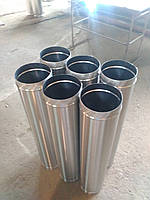 Труба дымоходная одностенная AISI 430-0,8 мм