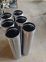 Труба из нержавейки дымоходная       AISI 304-0.8 mm