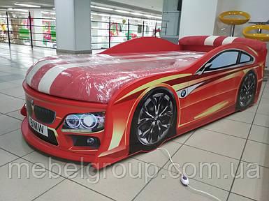 Ліжко машина БМВ червона